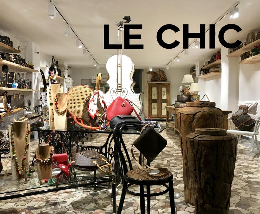 Le Chic Padova Louis Vuitton Vetrina