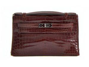 Hermès Kelly Pochette Crocodile Niloticus Le Chic