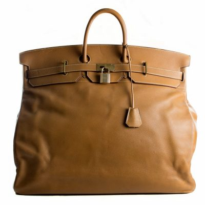 Hermès HAC Birkin 55 Gold Le Chic