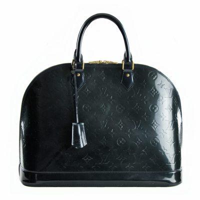 Louis Vuitton Alma GM Vernis Blu Nuit Le Chic