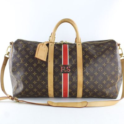 louis vuitton keepall bandouliere my lv heritage lechic