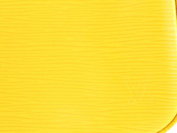 louis vuitton pochette epi gialla lechic