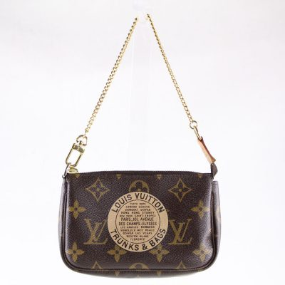 Louis Vuitton Pochette Trunks Monogram Edizione Limitata Le Chic