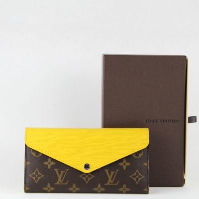 Louis Vuitton PortafoglioMarie-Lou Long Wallet Monogram Epi Giallo