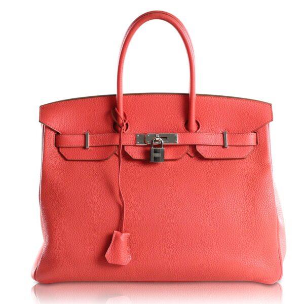 Hermès Birkin 35 Taurillon Clemence Jaipur Le Chic