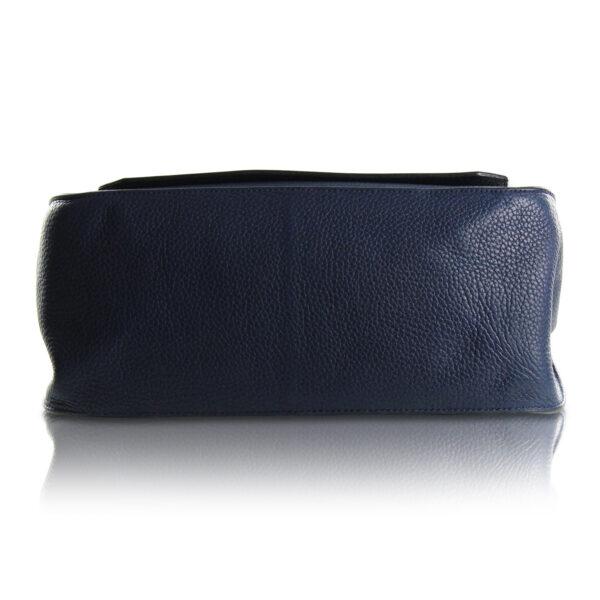 Hermès Jypsière 34 Taurillon Clemence Blu Le Chic