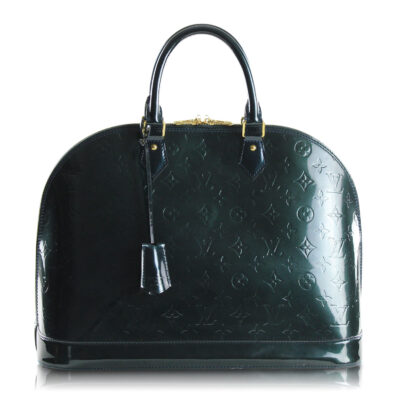 Louis Vuitton Alma GM Vernis Blu Nuit Le Chic