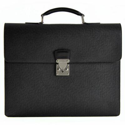 Louis Vuitton Cartella Moskova Taiga Ardoise Le Chic
