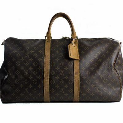 Louis Vuitton Keepall Bandoliere 55 Monogram Le Chic