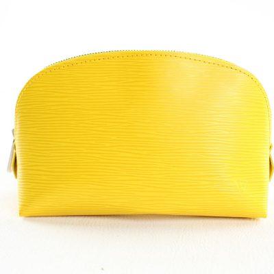 Louis Vuitton Pochette Cosmétique Epi Gialla Le Chic