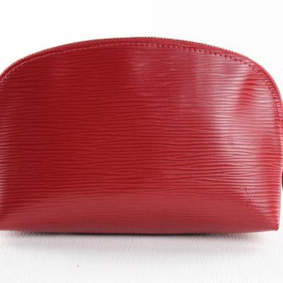 Louis Vuitton Pochette Cosmétique Epi Rossa Le Chic