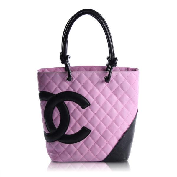 Chanel Tote Cambon Rosa e Nera Le Chic