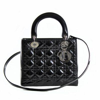 Dior Lady Media Vernice Nera Le Chic