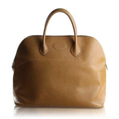 Hermès Bolide Web 45 Taurillon Clemence Gold Le Chic