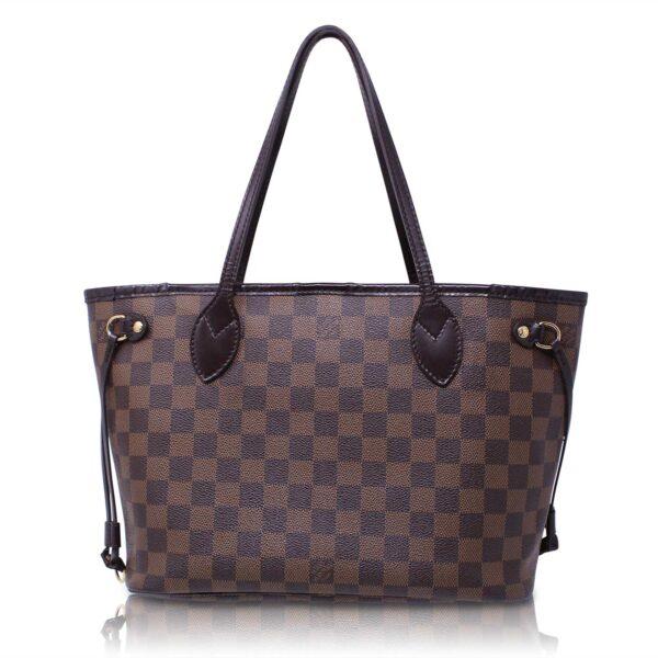 Louis Vuitton Neverfull Pm Damier Ebene Le Chic