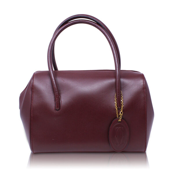 Cartier Bauletto Mini Bordeaux Le Chic