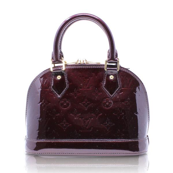 Louis Vuitton Alma BB Vernis Amaranto Le Chic