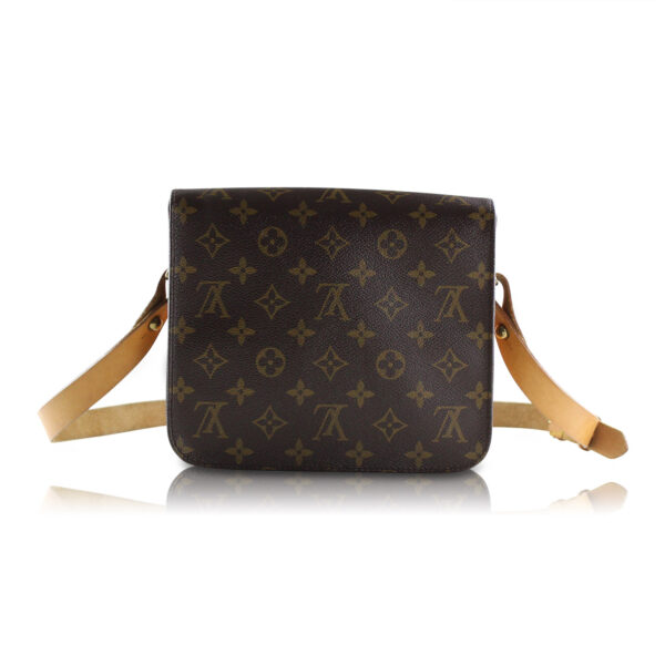 Louis Vuitton Cartouchière Mm Monogram Le Chic