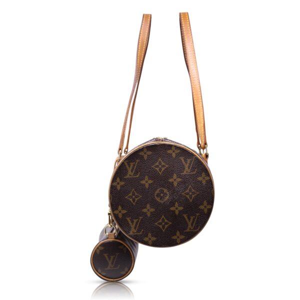 Louis Vuitton Papillon 31 e Mini Pouch Monogram Le Chic