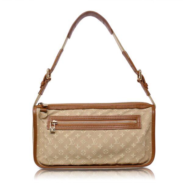 Louis Vuitton Pochette Mini Lin Kathleen Beige Monogram Le Chic