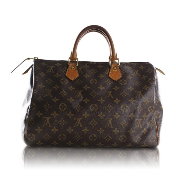 Louis Vuitton Speedy 35 Monogram Le Chic