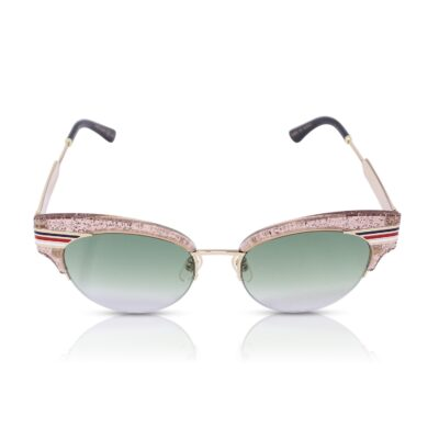Gucci Occhiali da sole Glitter Cat Eye