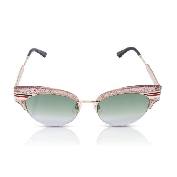 Gucci Occhiali da sole Glitter Cat Eye