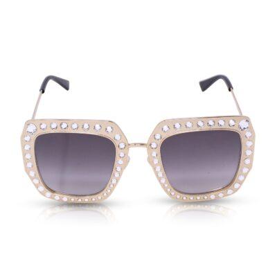 Gucci Occhiali da sole Oversize Gold Le Chic