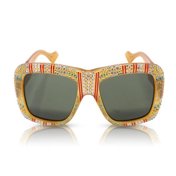Gucci Occhiali da sole Oversize Havana Glitter Le Chic