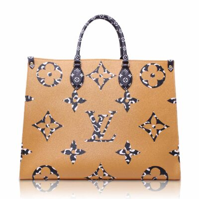 Louis Vuitton Onthego Gm Jungle Monogram Giant Le Chic
