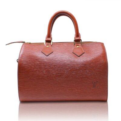 Louis Vuitton Speedy 25 Epi Kenyan Fawn Le Chic