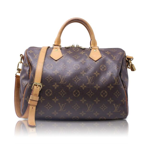 Louis Vuitton Speedy 30 Bandoliere Monogram Le Chic