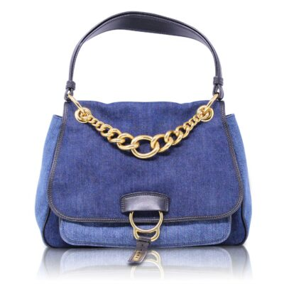 Miu Miu Dahlia Blue Denim Le Chic