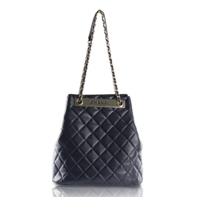Chanel Trendy CC Drawstring Nera Le Chic