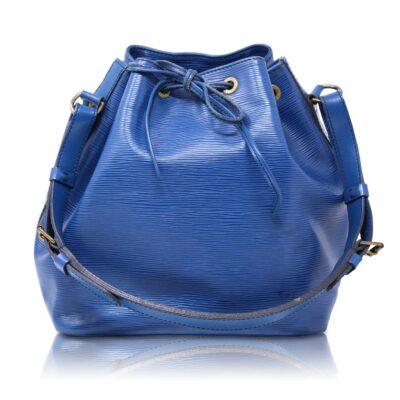 Louis Vuitton Petit Noé Epì Blu Le Chic