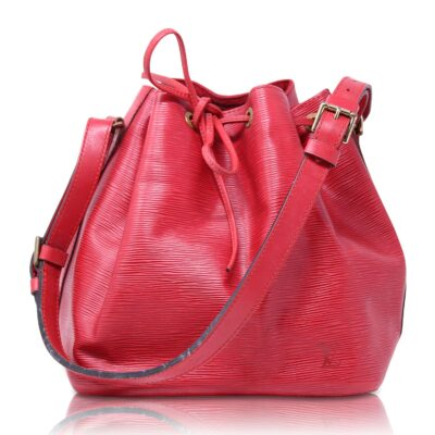Louis Vuitton Petit Noé Epì Rosso Le Chic