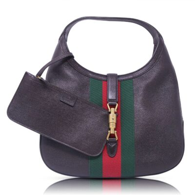 Gucci Hobo Soft Jackie Pelle Marrone Le Chic