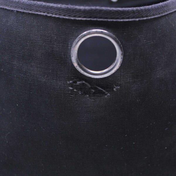 Hermès Herbag 2 in 1 Canvas Nera con Tracolla Le Chic