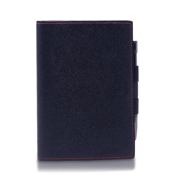 Hermès Porta Agenda Blu Rosso Le Chic