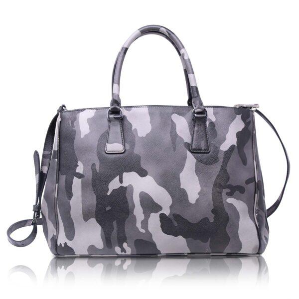 Prada Galleria Saffiano Camouflage Marmo Le Chic