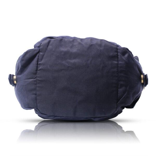 Prada Messanger Bag Nylon Blu Le Chic