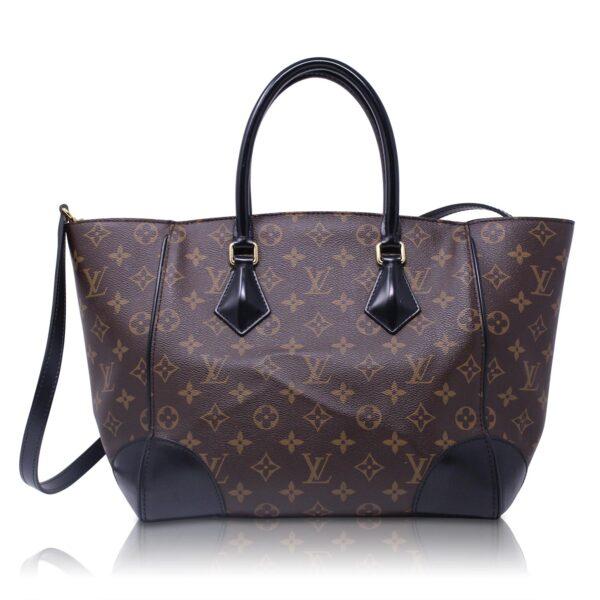 Louis Vuitton Phenix MM Monogram pelle Nera Le Chic