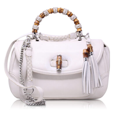 Gucci New Bamboo Bianca Le Chic