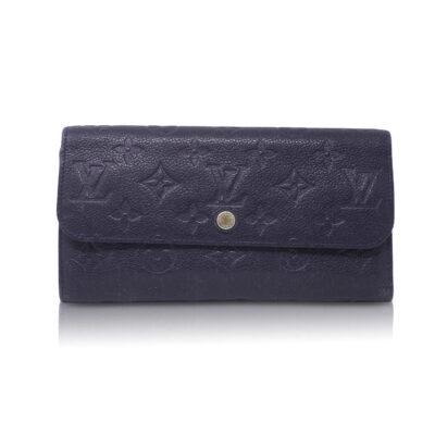 Louis Vuitton Portafoglio Virtuose Empreinte Blu Le Chic